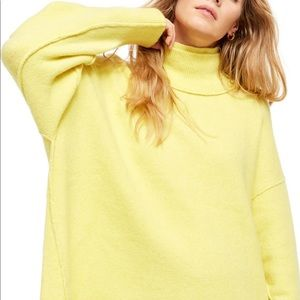 Afterglow mock neck top